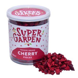 Külmkuivatatud kirsid tükkidena