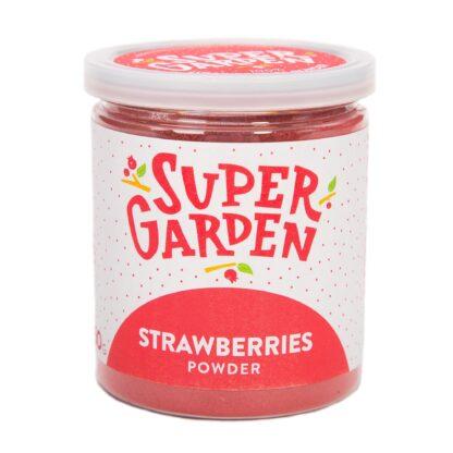 Külmkuivatatud maasikad pulber