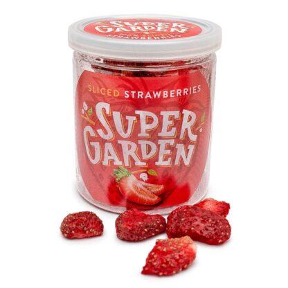 Külmkuivatatud maasikad viilud 20g