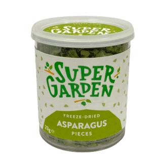 Freeze-dried asparagus